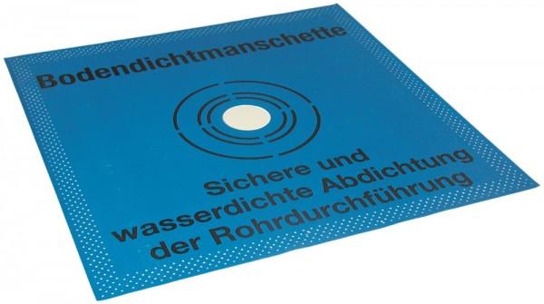 OTTOFLEX Bodendichtmanschette - 42,5x42,5 - 2 Stück im Karton von Otto Chemie