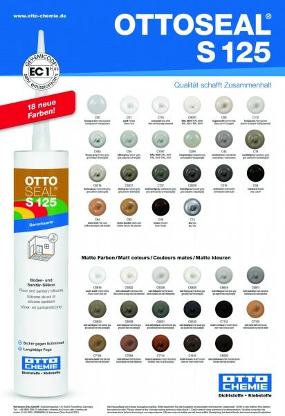 OTTOSEAL®S 125 -Das Boden- und Sanitär-Silikon von Otto Chemie
