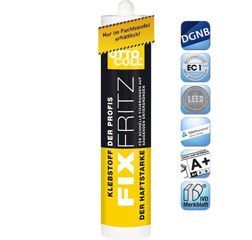 OTTOCOLL®FIXFRITZ - A266 - 310 ml - weiß von Otto Chemie
