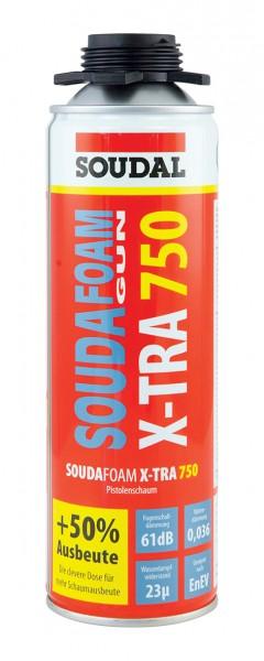 SOUDAFOAM GUN X-TRA750 - Pistolenschaum - 500 ml Dose von SOUDAL