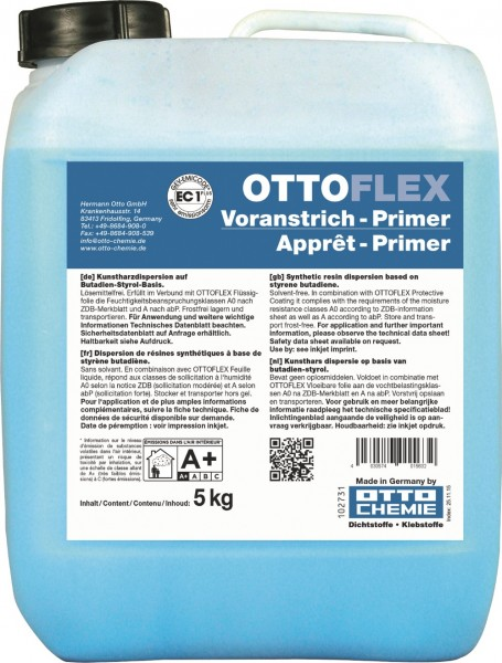 OTTOFLEX Voranstrich - 5 kg Kunststoff-Kanister von Otto Chemie