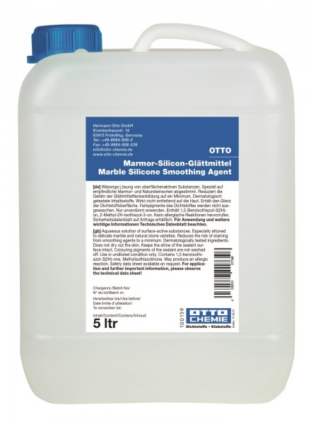 Marmor - Silicon - Glättmittel - 5 l Kunststoff-Kanister von Otto Chemie