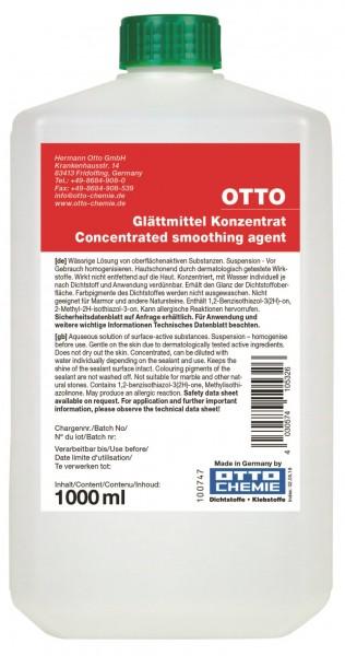 Glättmittel - Konzentrat - 1000 ml Kunststoff-Flasche von Otto Chemie