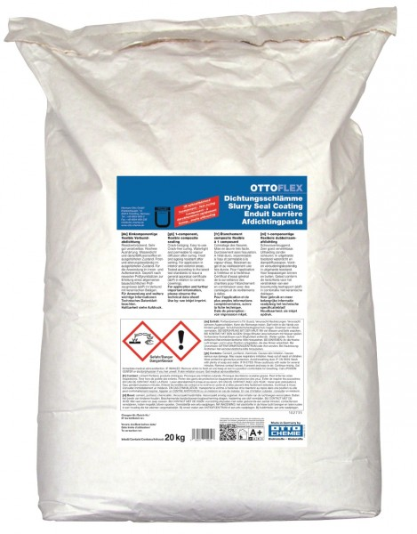 OTTOFLEX Dichtungsschlämme - 20 kg Sack von Otto Chemie
