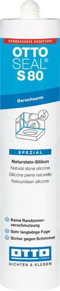 OTTOSEAL®S 80 - Das Premium-Alkoxy-Naturstein-Silicon 310 ml von Otto Chemie