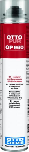 OTTOPUR OP 960 - B1-schwer entflammbarer 1K-PU-Schaum von Otto Chemie