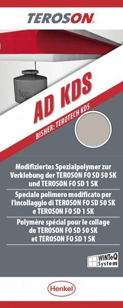 TEROSON AD KDS - 570 ml - schwarz - Alu-Folienbeutel von Henkel